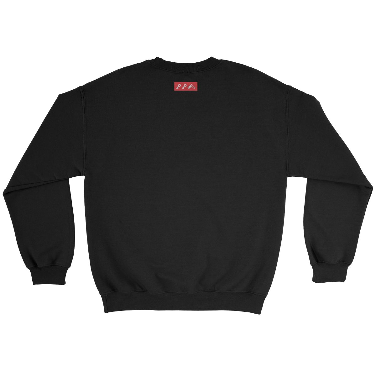 kikicutt black crew sweatshirt