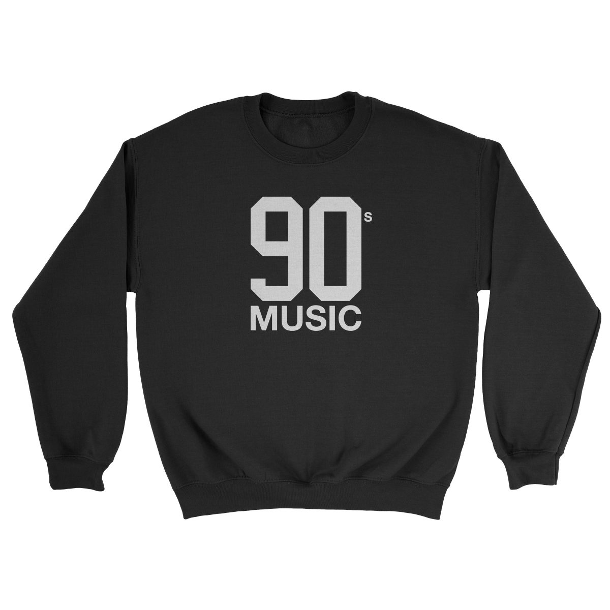 90s MUSIC black crew sweatshirt by kikicutt
