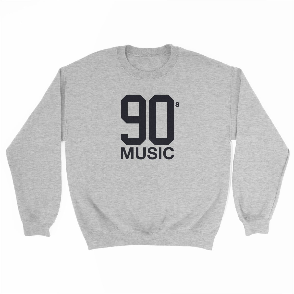 90s MUSIC sport grey crew sweatshirt by kikicutt
