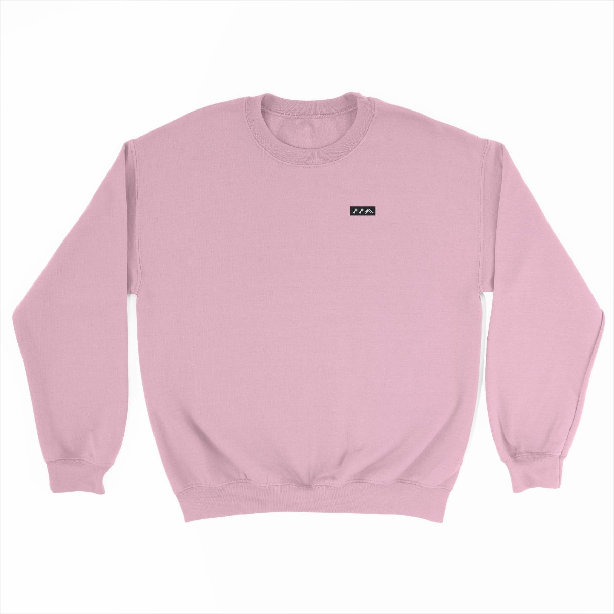 KIKICUTT black icon on a light pink really soft sweatshirt at kikicutt.com