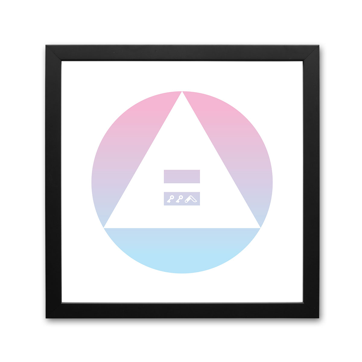 """""""GENDER EQUALITY"""" equal rights for women framed prints by kikicutt"""