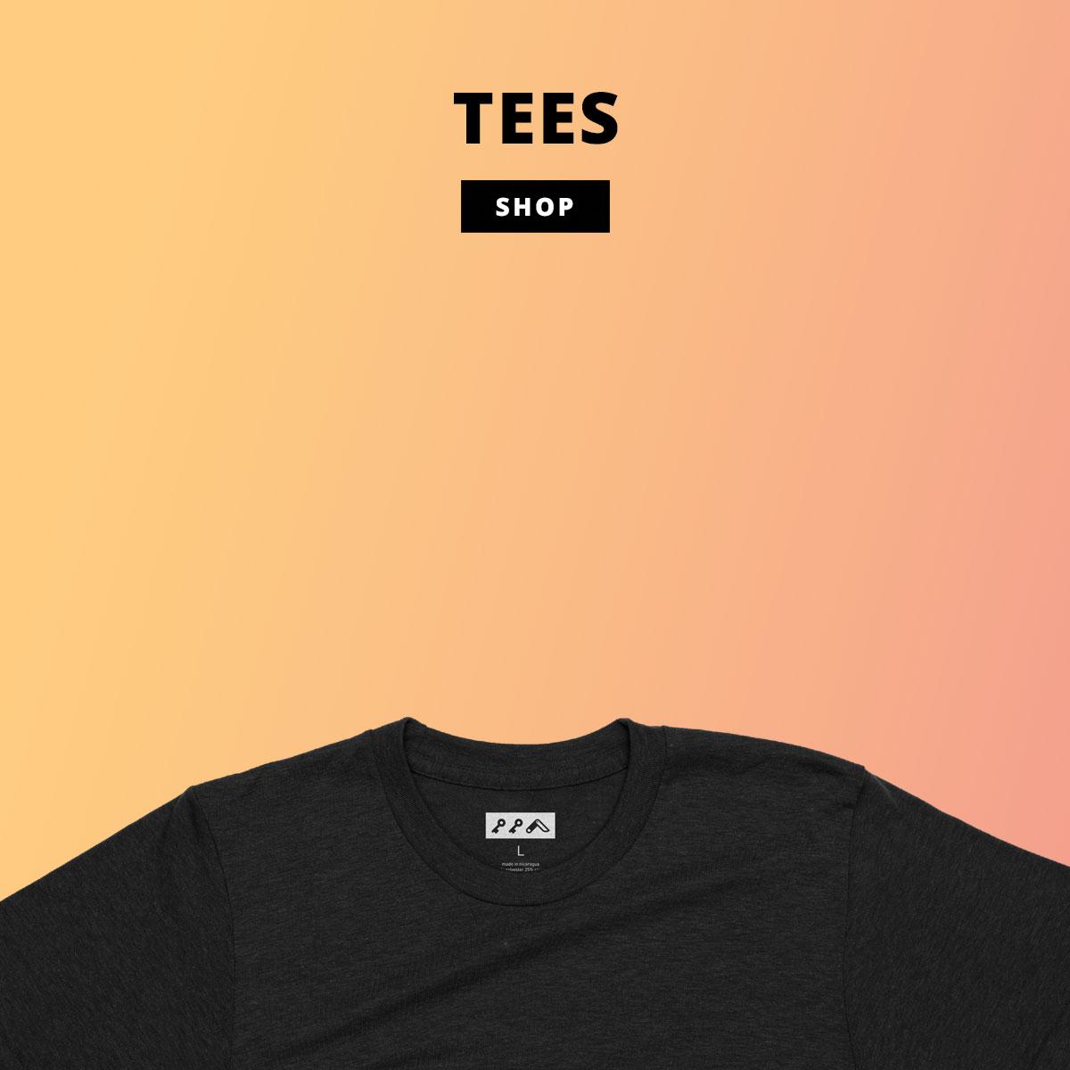 kikicutt tri-blend t-shirts