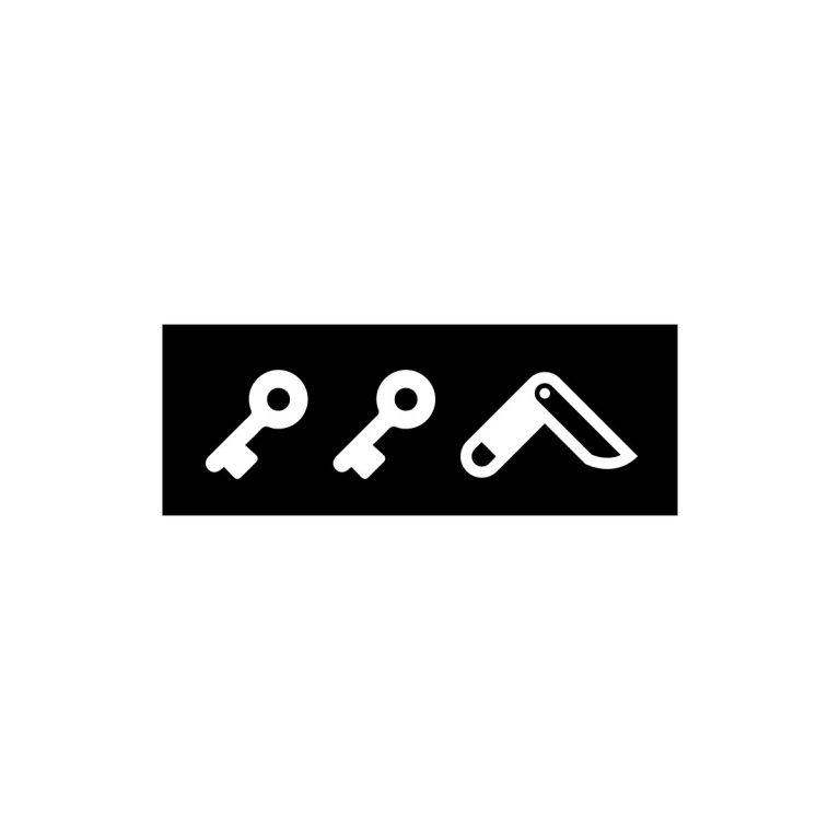 KIKICUTT icon (black)