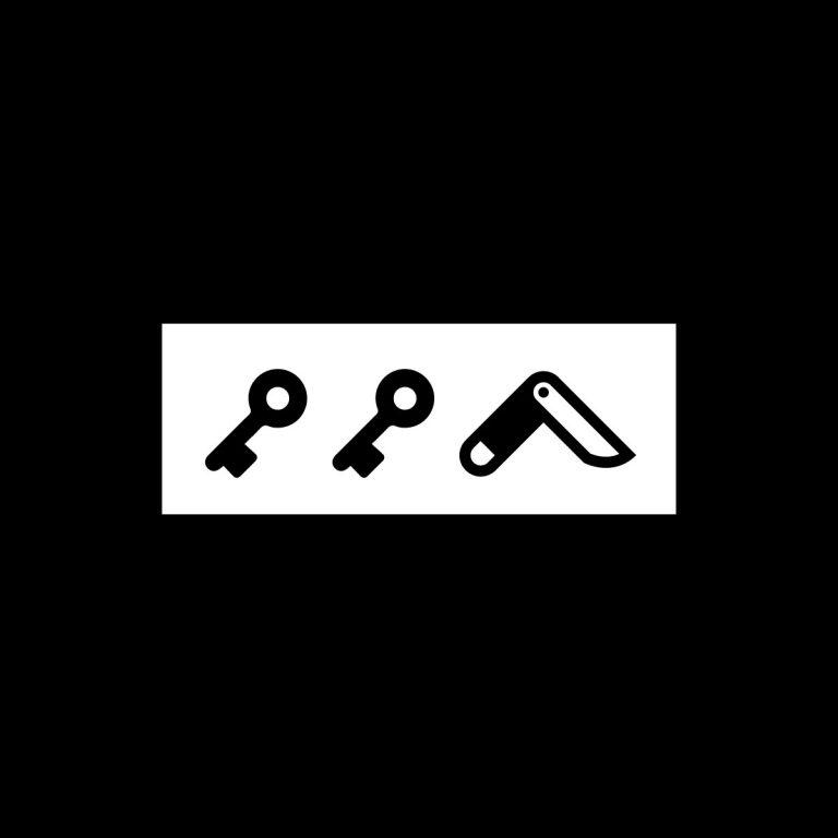 KIKICUTT icon (white)
