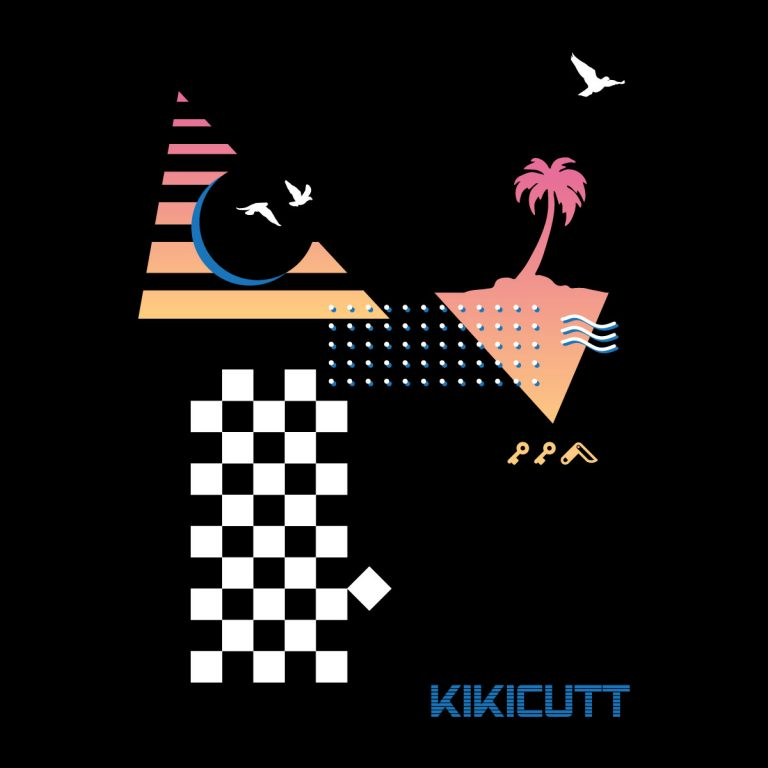 """CHECKERED PAST"" retro throwback 80s style design by KIKICUTT"