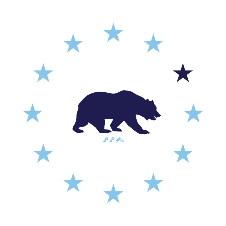 STAR GAZING california republic cal bears design by kikicutt