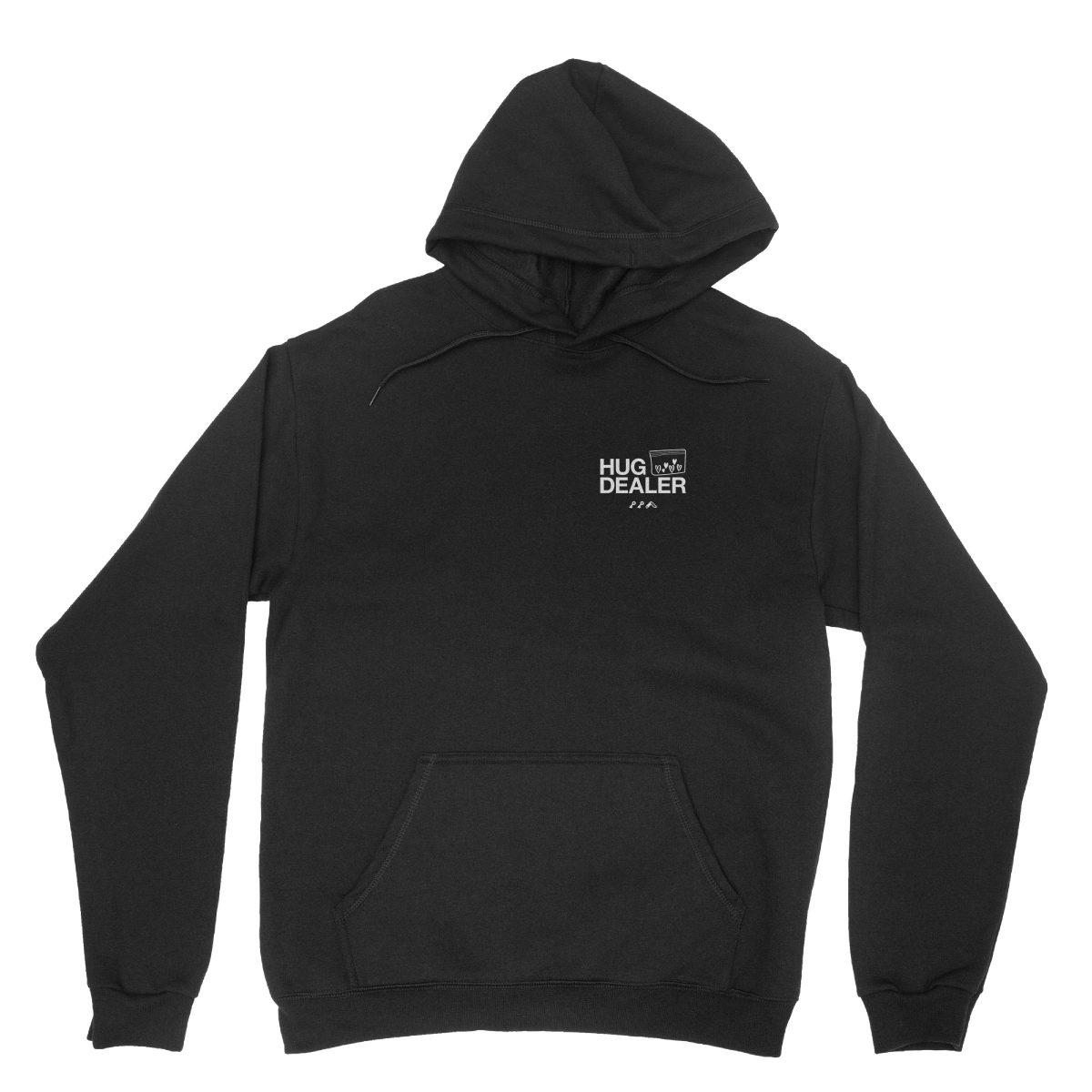 HUG DEALER hoodie in black by kikicutt sweatshirt store
