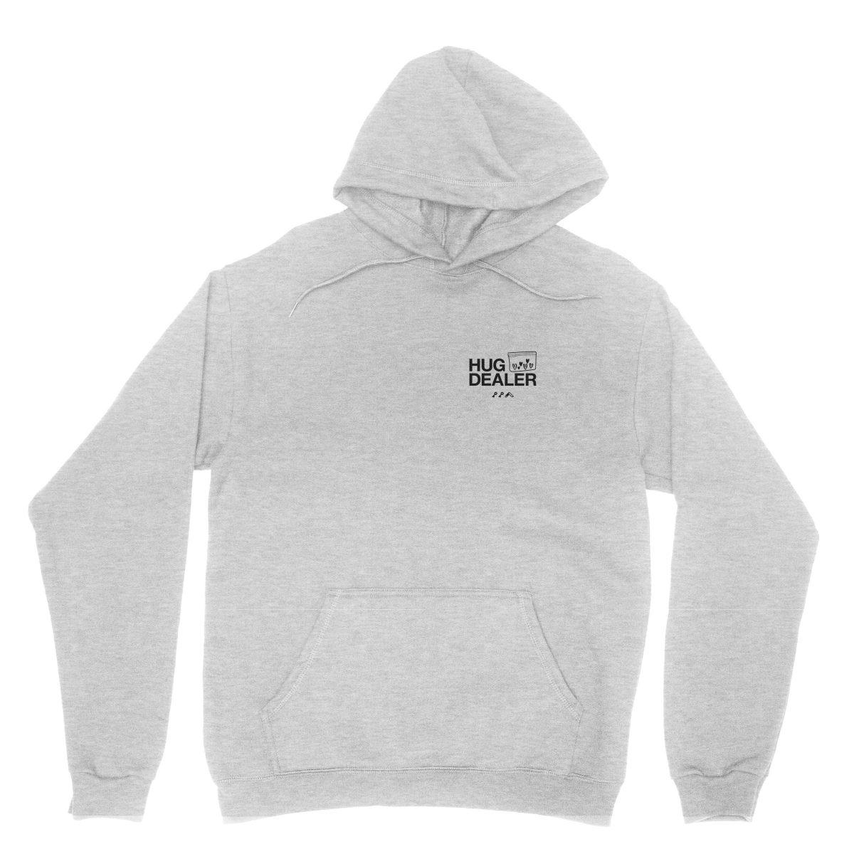 HUG DEALER hoodie in grey by kikicutt sweatshirt store