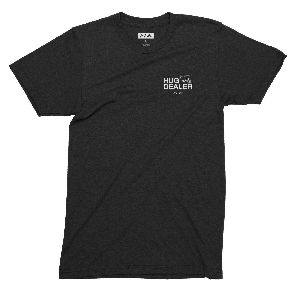 HUG DEALER shirt in black by kikicutt t-shirt store