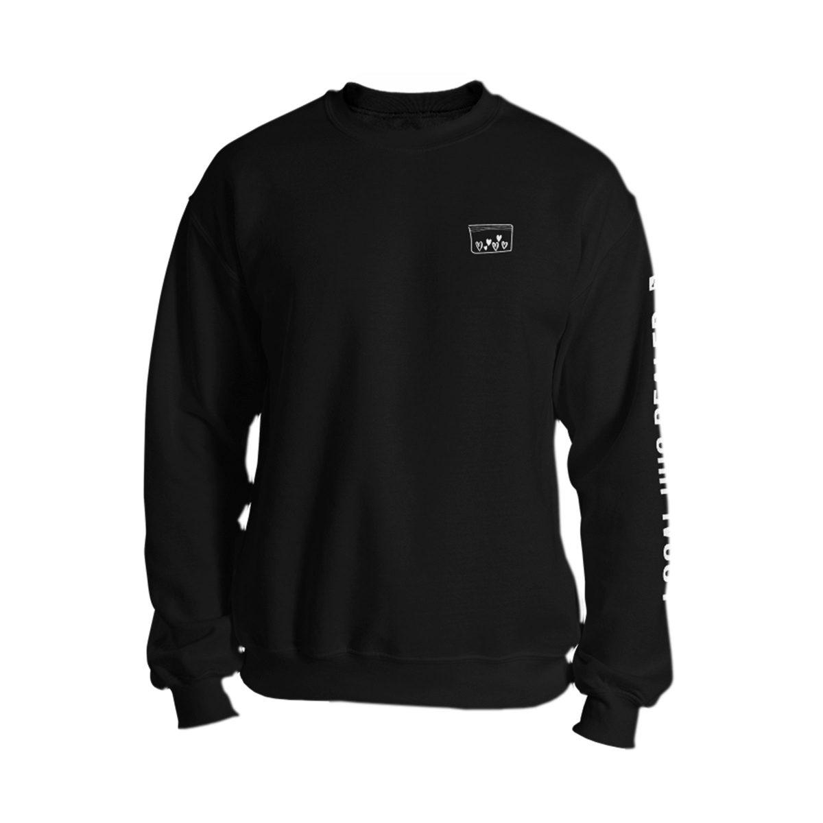 LOCAL HUG DEALER sweatshirt in black by kikicutt sweatshirt store