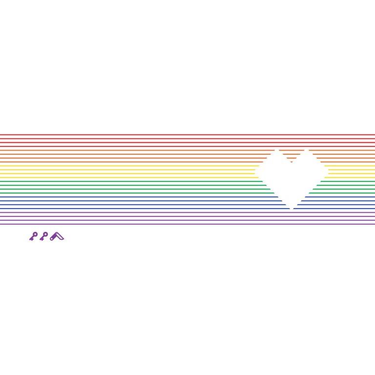 RAINBOW HEART by kikicutt