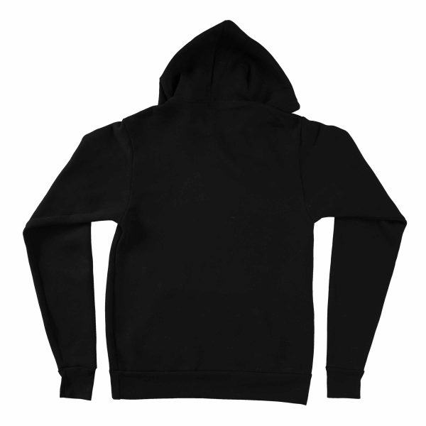 KIKICUTT fleece hood black