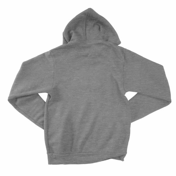 KIKICUTT fleece hood deep heather