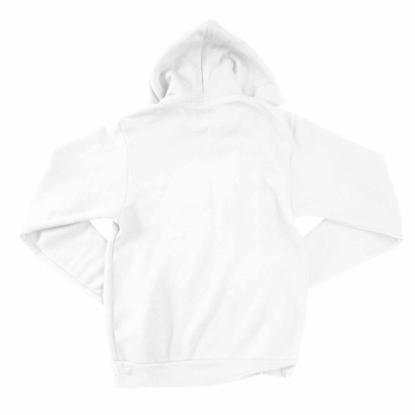 KIKICUTT fleece hood white
