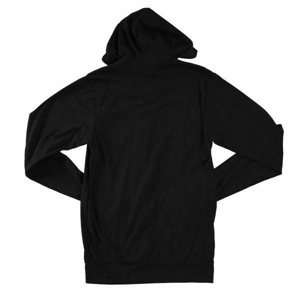 KIKICUTT zip hood black