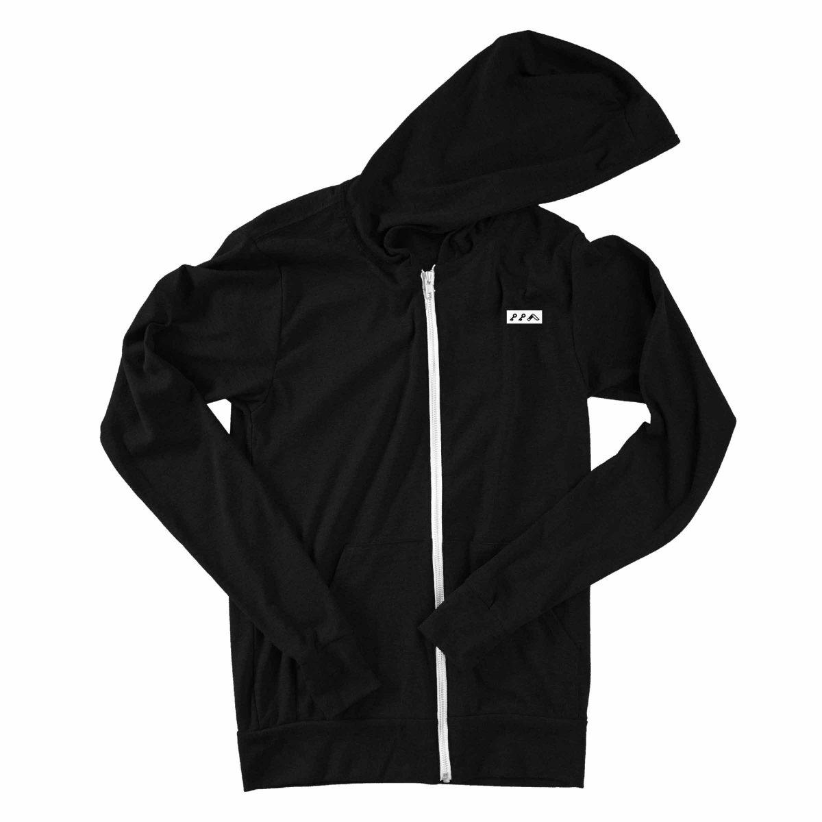 kikicutt icon lightweight unisex zip hoodies by kikicutt sweatshirt store
