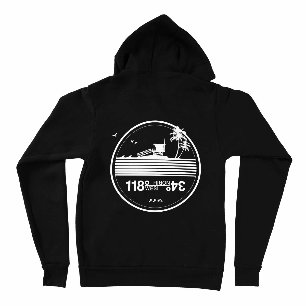 manhattan beach hoodies by kikicutt sweatshirt store