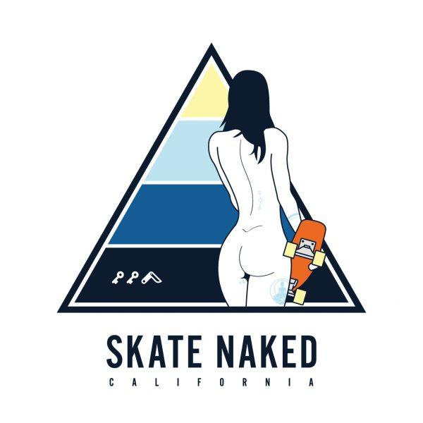 skate naked