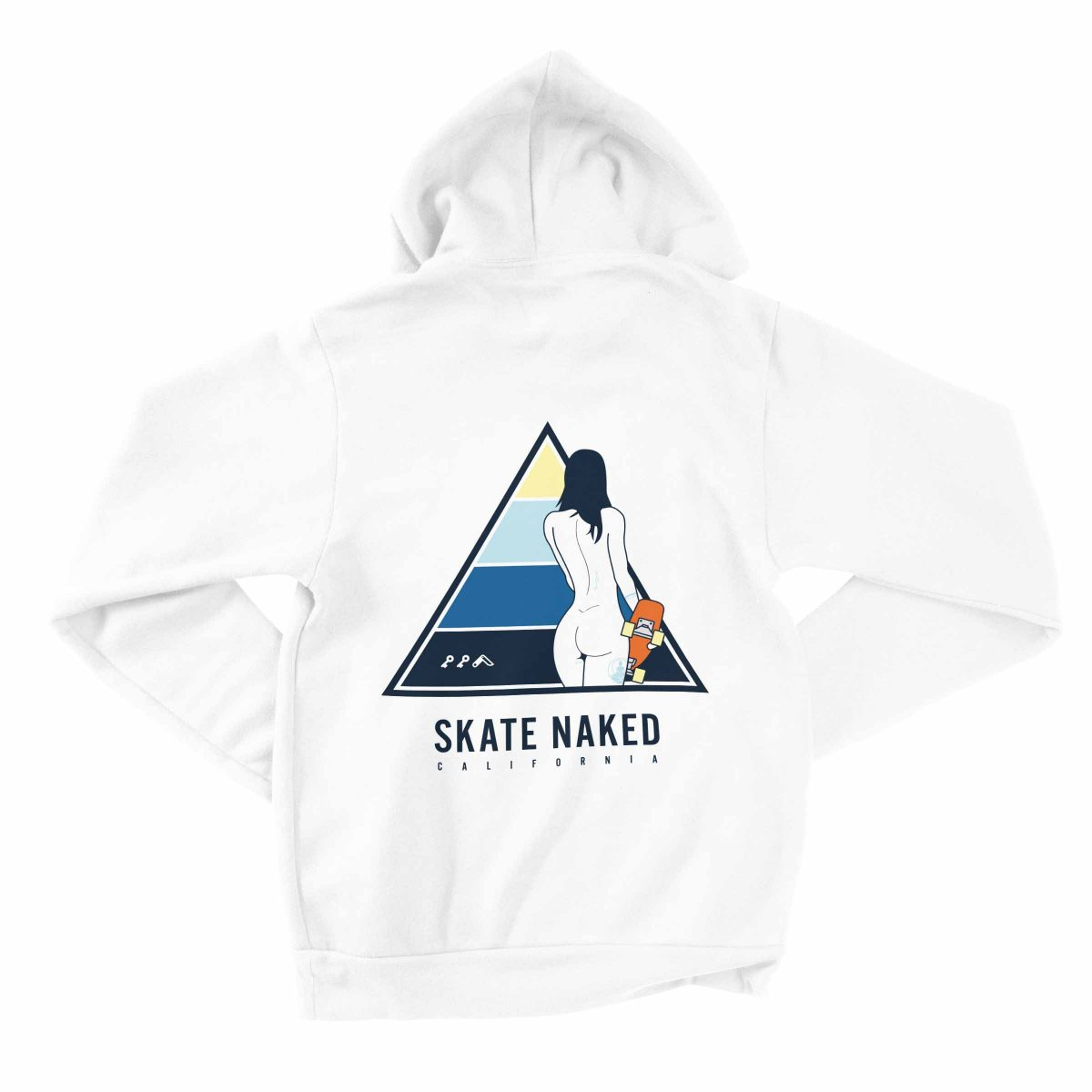 naked skater chick hoodies by kikicutt sweatshirt store