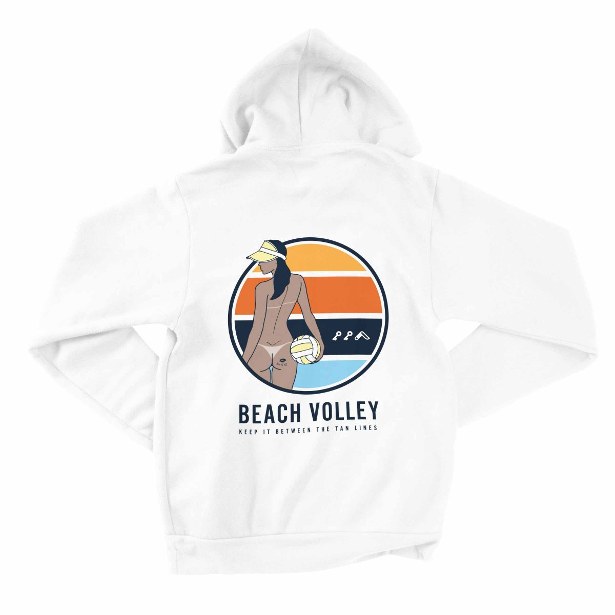 hermosa beach volleyball hoodies by kikicutt sweatshirt store