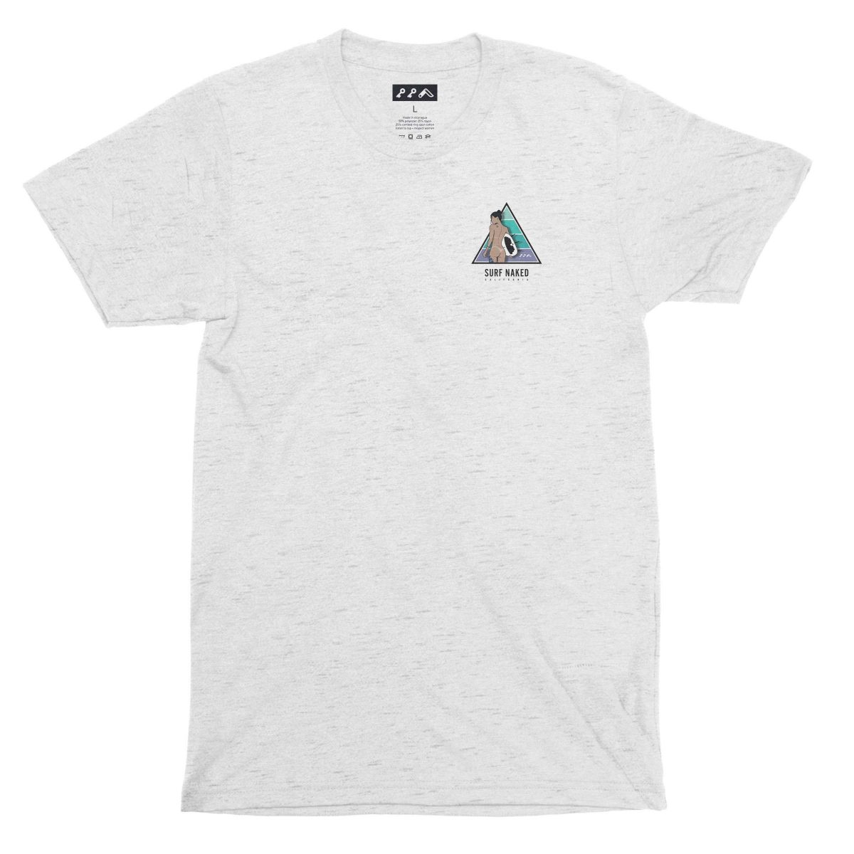 naked surfing california design shirts by kikicutt