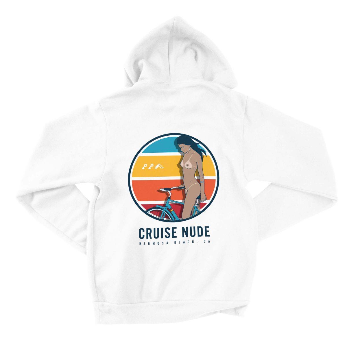 beach cruise nude hoodies by kikicutt sweatshirt store