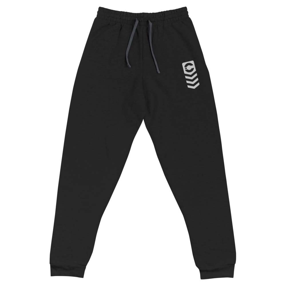 KIKI CUTT STRIPES embroidered joggers by kikicutt sweatpants store