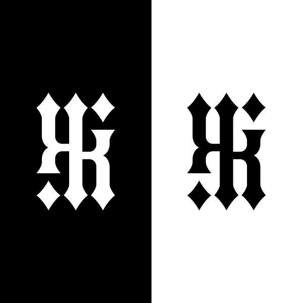 KIKI ambigram