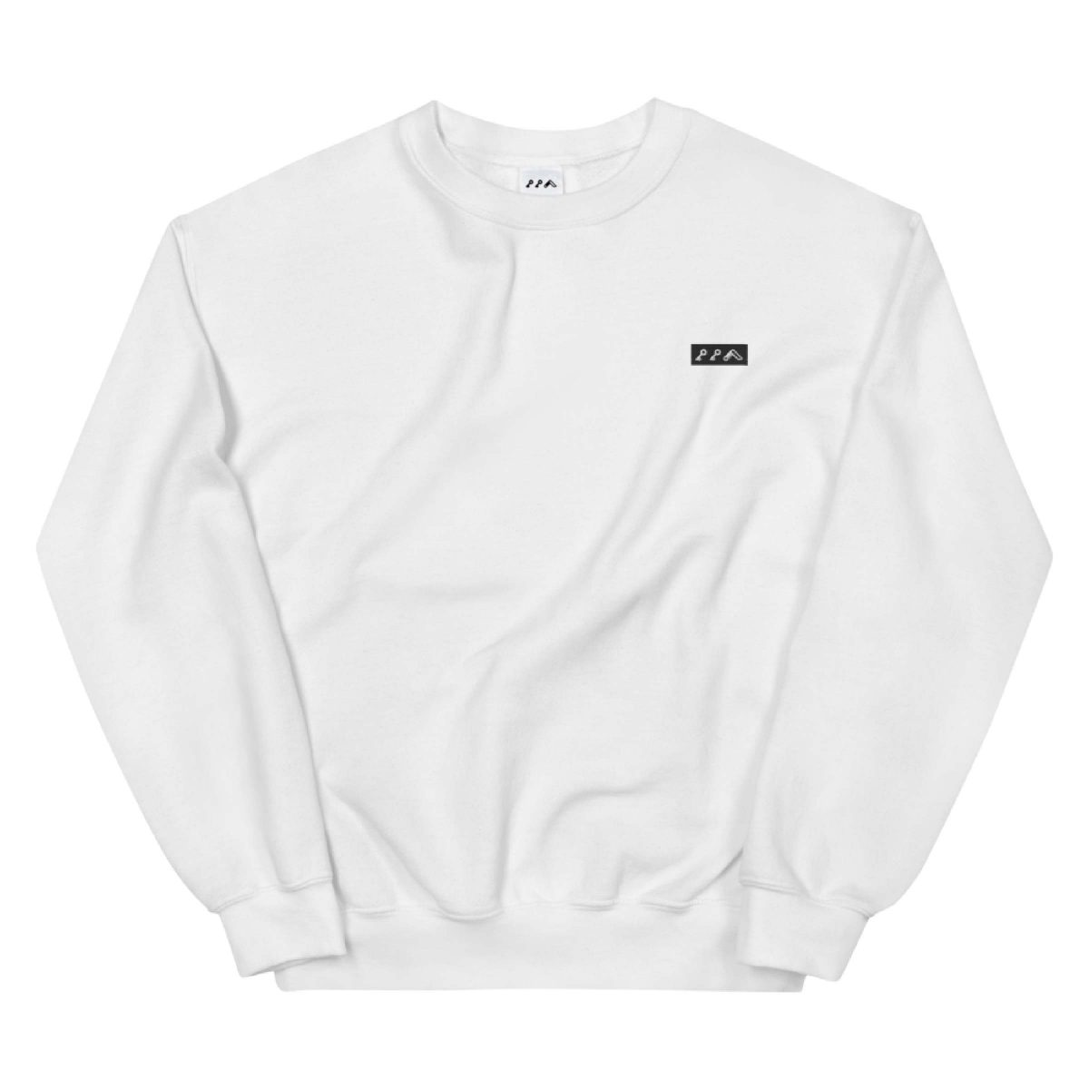KIKICUTT LOGO embroidered sweatshirt by kikicutt sweatshirt store