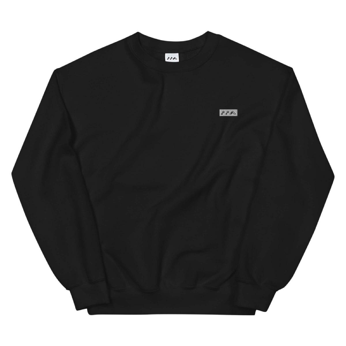 KIKICUTT LOGO embroidered sweatshirt by kikicutt sweatshirt store