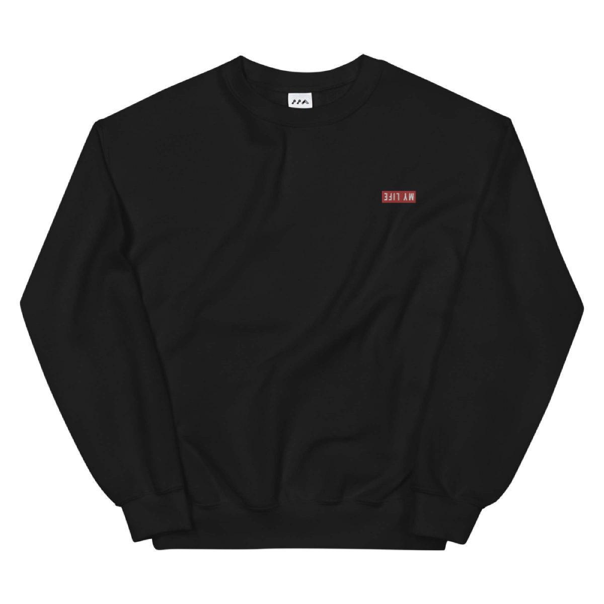 MY LIFE embroidered sweatshirt by kikicutt sweatshirt store