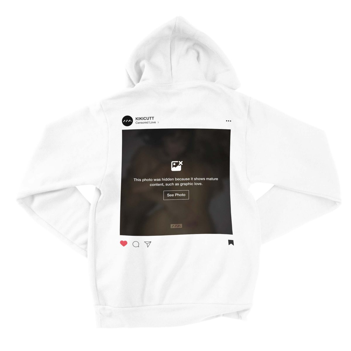 INSTAGRAM CENSORED hoodies by kikicutt sweatshirt store