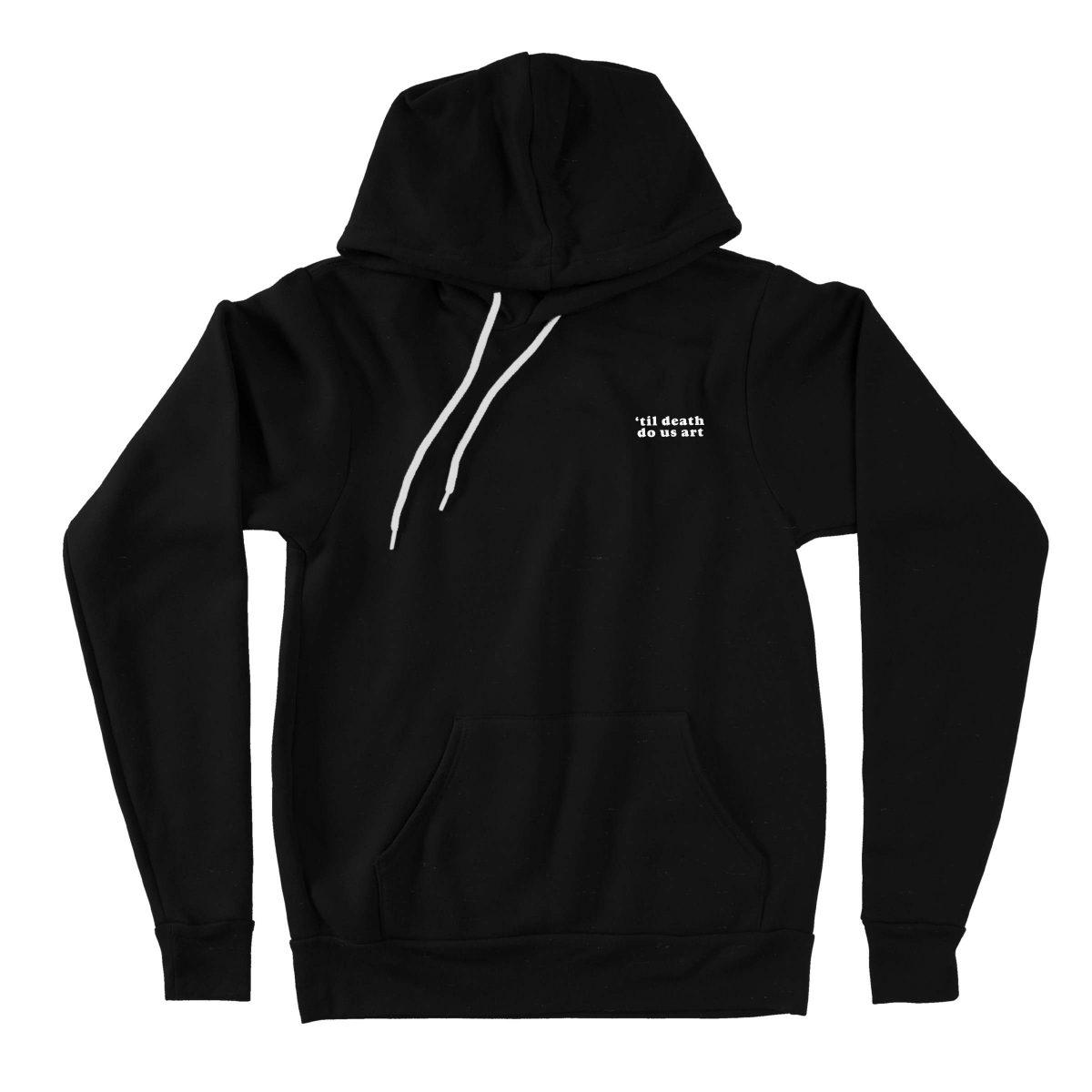 TIL DEATH DO US ART triblend hoodies by kikicutt sweatshirt store