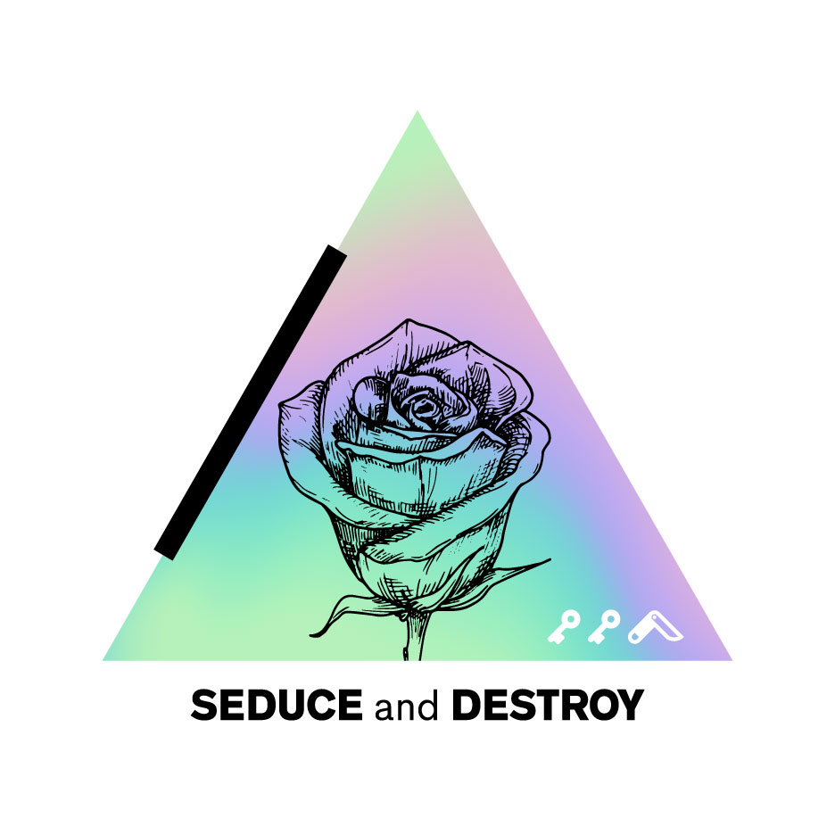 SEDUCE AND DESTROY design by kikicutt sweatshirt store