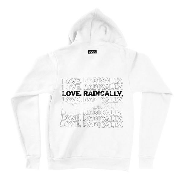 LOVE RADICALLY hoodies by kikicutt sweatshirt store