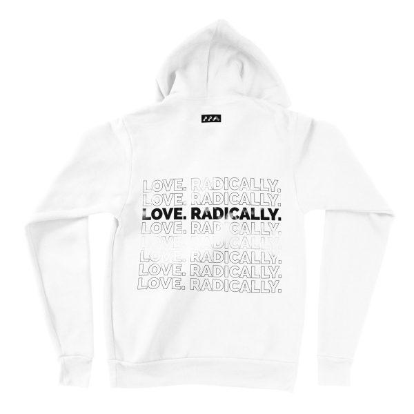 LOVE RADICALLY hoodies by kikicutt sweatshirt store