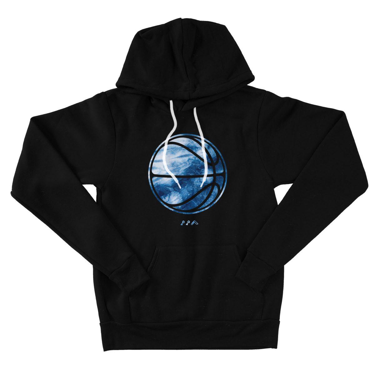 indigo backetball hoodies by kikicutt sweatshirt store